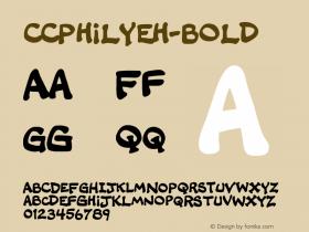 CCPhilYeh-Bold