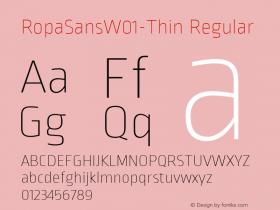 RopaSans-Thin