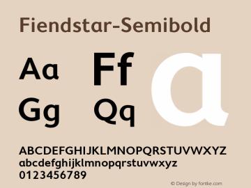 Fiendstar-Semibold