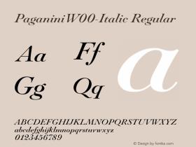 Paganini-Italic