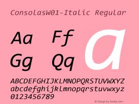 Consolas-Italic