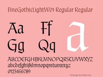 FineGothicLight-Regular