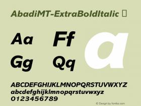 AbadiMT-ExtraBoldItalic