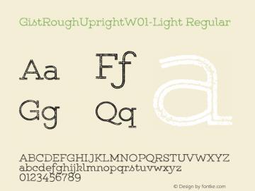 GistRoughUpright-Light
