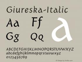 Giureska-Italic