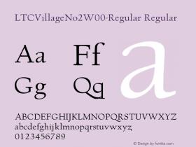 LTCVillageNo2-Regular