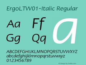 ErgoLT-Italic