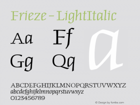 Frieze-LightItalic