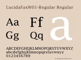 LucidaFax-Regular