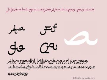 PIXymbolsFaux-ArabicReg