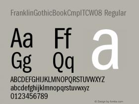 FranklinGothicBookCmpITC