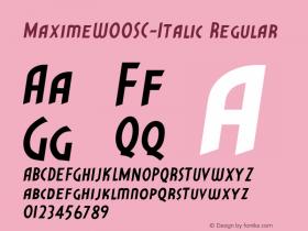 MaximeSC-Italic