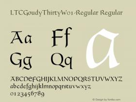 LTCGoudyThirty-Regular
