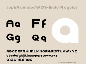 JophRounded-Bold