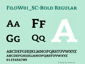 Filo_SC-Bold