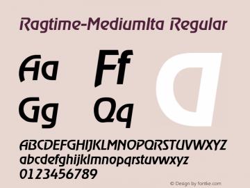 Ragtime-MediumIta