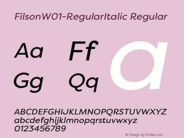 Filson-RegularItalic