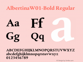 Albertina-Bold