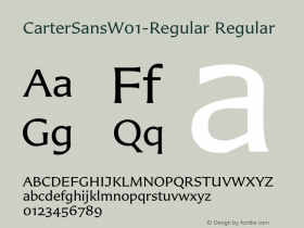 CarterSans-Regular