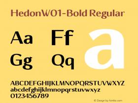 Hedon-Bold