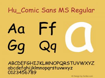 Hu_Comic Sans MS
