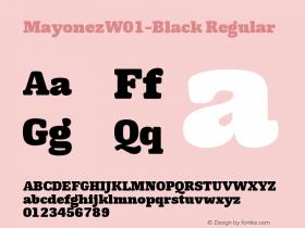 Mayonez-Black