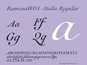 Rameau-Italic