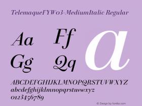 TelemaqueFY-MediumItalic