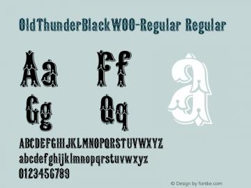 OldThunderBlack-Regular