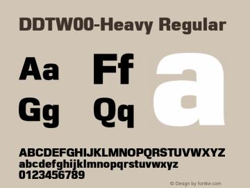 DDT-Heavy