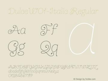 Dulce-Italic