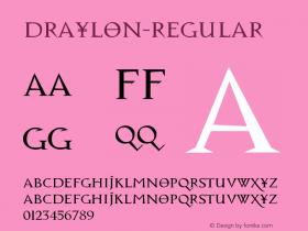 Draylon-Regular