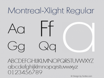 Montreal-Xlight