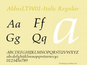 AldusLT-Italic