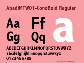 AbadiMT-CondBold