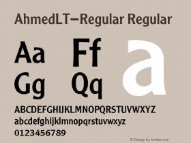 AhmedLT-Regular