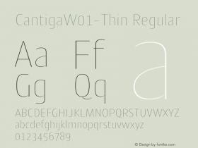 Cantiga-Thin
