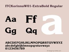 ITCKorinna-ExtraBold