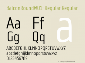 BalconRound-Regular