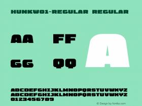 Hunk-Regular