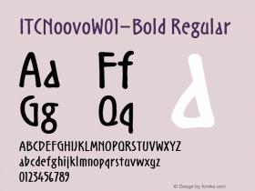 ITCNoovo-Bold