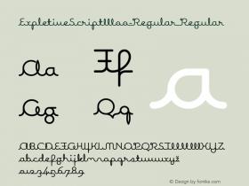 ExpletiveScript-Regular