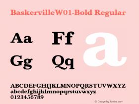 Baskerville-Bold