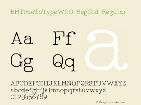 RMTrueToType-RegOld