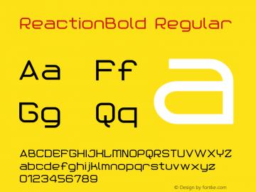 ReactionBold