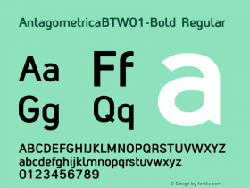 AntagometricaBT-Bold