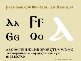 Pachomius-Regular