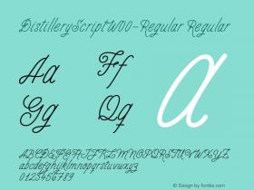 DistilleryScript-Regular