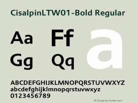 CisalpinLT-Bold