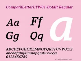 CompatilLetterLT-BoldIt
